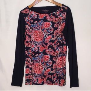 Lilly Pulitzer long sleeve shirt S